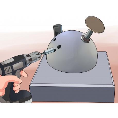 Převrtání bowlingových koulí