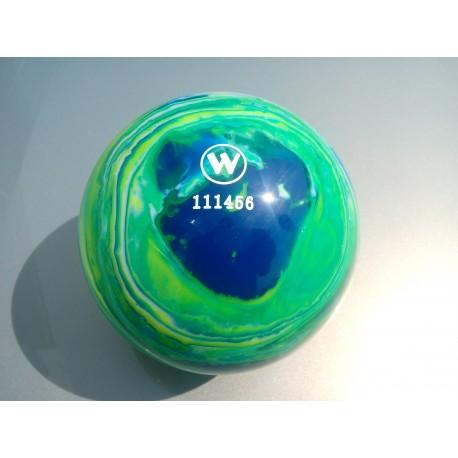 Kuželková koule - Winner 160mm - Blau / grun / gelb / weiss