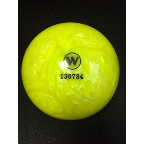 Kuželková koule - Winner 160mm  Yellow / Pearl